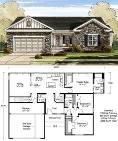 Second floor options ideal layout bedroom with jack and for 1700 square foot craftsman house plans