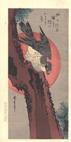 Japanese Prints, Japanese Art, Animal Flow, Art Chinois, Dungeons And Dragons Characters, Art Japonais, Japanese Painting, Woodblock Print, Asian Art