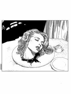 Apollonia Saintclair 276 - 20130102 La mort douce (The sweet death) Art Print