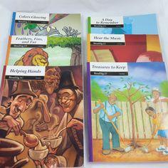 Bob Jones Reading 1 Student Text 6 Book Lot Third Edition BJU Press Homeschool #Textbook