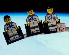 British astronaut reveals LEGO minifigures of his space station crew International Space Station, Lego News, Meet