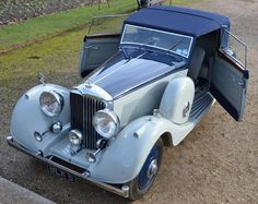 1935 Derby Bentley 3 1/2 by Thrupp & Maberly.