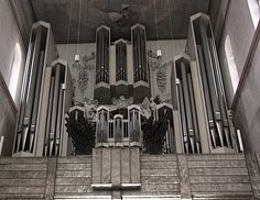 Pipe organ in Würzburg cathedral