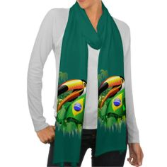 #Toco #Toucan with #Brazil #Flag #Scarf!  New at #Zazzle! http://www.zazzle.co.uk/toco_toucan_with_brazil_flag_scarf-256574265659473248