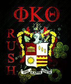 Phi Kappa Theta Rush image #PhiKappaTheta #GreekLife #Fraternity