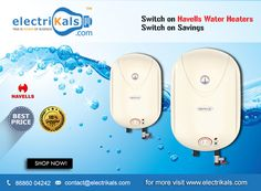 #WaterHeaters - Buy #Havells Puro Plus Electric Storage Water Heaters Online @ Electrikals.com #OnlineShopping