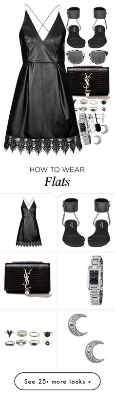 """Untitled #7863"" by nikka-phillips on Polyvore featuring moda, Yves Saint Laurent, Topshop, 32.4 y Burberry"