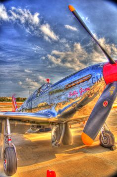 HDR of P-51 Mustang
