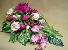 PIWONIE róże STORCZYKI (2858.1) misa piwonia Kompozycje kwiatowe Marko604 Casket Sprays, Funeral Flowers, Ikebana, Backyard Landscaping, Landscape Design, Floral Arrangements, Floral Wreath, Bouquet, Wreaths