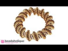 How to Do a Cellini Spiral in Bead Weaving - YouTube