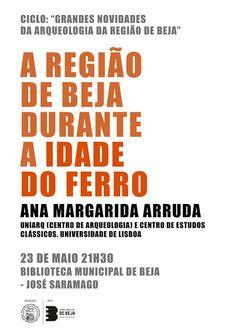 """Outeiro do Circo: Ciclo de conferências """"Grandes novidades da arqueo..."""