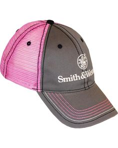 5627f7492c8 Smith Women s And Wesson Mesh Back Cap Pretty sure I need this. 🔫 Country  Sweatshirts