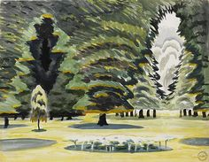 Sunlight in Park by Charles Ephraim Burchfield
