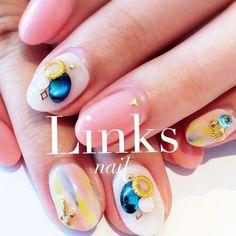 #Linksnail #nail #links #ネイル #大阪 #天王寺 #gel #ジェル #サロン #art #アート