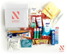 The following photo is a sample of the items that will be included in our donation self-care boxes. These self-care boxes will be distributed to women in Central Florida, New York, Hawaii, Jamaica, South Africa, and Puerto Rico. We want to make this a year round project as it is our mission to empower women everywhere.   visit www.nakedlynatural.com for more information.
