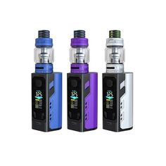 IJOY Captain X3 324W 20700 TC Kit :  The Captain X3 MOD is the first triple 20700 box MOD with massive 324W output power and fantastic battery life with three 3000mAh IJOY 20700 batteries (9000mAh in total). It's also compatible with 18650 cells with adaptors. It has a big color OLED screen to show vaping info with a user friendly UI. And the Captain X3 tank has a colorful cobra resin drip tip sliding top fill system and a 8ml bubble tube. You can enjoy cloudy vapor and impressive flavor…