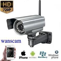 Draadloze WIFI Outdoor IP Camera HD  Spysecurityshop.nl biedt u een bewakingscamera aan met een uitzonderlijke nachtzicht van een hoge beeldkwaliteit. Dit is een zeer professionele IP bewakingscamera voor binnen en buiten.Deze bewakingscamera heeft een resolutie van 1MP 1280x720 en juist door deze resolutie heeft u een prachtig beeld. Door infrarood op deze bewakingscamera heeft u een goede nachtzicht de camera heeft overdag tot wel 50 meter zicht. De camera is voorzien van een…