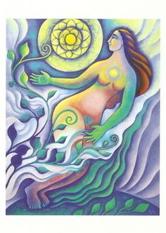 Rejoice the Return of Spring (equinox series) ©1999 Mara Friedman
