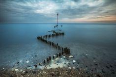 Heacham Beach, Norfolk, England. @ila photography.co.uk