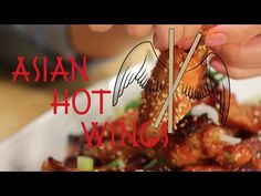 How to make Asian Hot Wings - YouTube