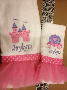 Tutu decorative bath towels perfect for the by SewMeTheMoney, $29.99