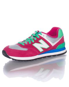 BUY NOW --> http://lepry.com/product/new-balance-womens-pink-footwear-sneakers-6/