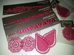 4you4ever Design Parure: Pink