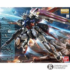 68.80$  Buy here  - OHS Bandai MG 169 1/100 GAT-X105 Aile Strike Gundam Ver. RM Mobile Suit Assembly Model Kits