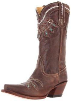 Tony Lama Boots Women's Rancho VF6015 Boot   Ladies Cowboy Boot Roundup