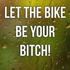 Indoor cycling!