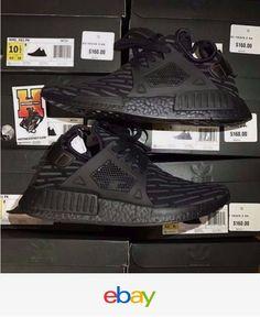 brand new fdd02 4d879 Adidas Nmd Xr1 Pk Boost Triple Black Ba7214 Primeknit Sz  8-13 Adidas Nmd