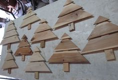 Christmas Tree Art Craft From HT Pallets Ready for Designs!