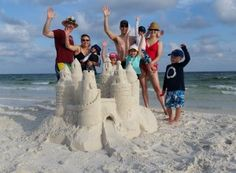 Learn to make sandcastles on your vacation to the beach! Suites is located in Santa Rosa Beach between Destin and Seaside, FL. This Magic Moment, In This Moment, Making Memories, Childhood Memories, Vacation Destinations, Vacations, Yahoo Travel, Seaside Fl, Santa Rosa Beach