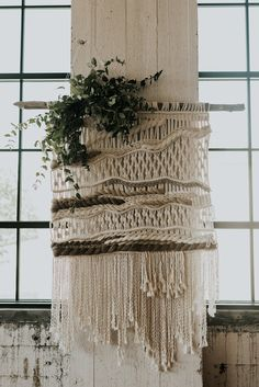 Extra Large Neutral Wall Hanging
