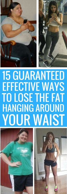 15 surefire ways to lose any unwanted excess fat.