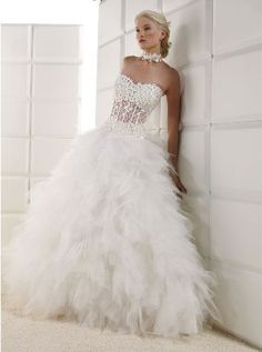 Sexy wedding dress so pretty