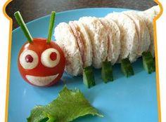 The Hungry Catepillar Bento.