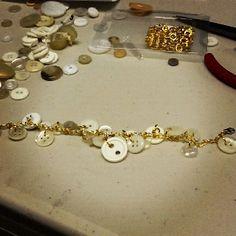 DIY button bracelets!