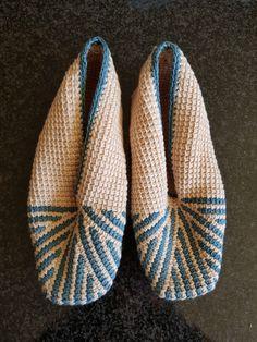 Crochet Slipper Pattern, Crochet Slippers, Tunisian Crochet, Detail, Link, How To Make, Accessories, Fashion, Moda