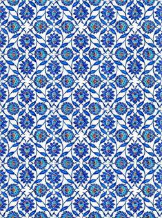 Photo about Photo of turkish tiles, found in Rustempasa Mosque, in Istanbul Turkey. Image of flowers, ceramic, abstract - 4245584 Turkish Tiles, Turkish Art, Portuguese Tiles, Islamic Tiles, Islamic Art, Turkish Pattern, Turkey Stock, Turkish Design, Blue Pottery
