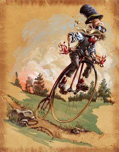 John Hinderliter « Illustration Friday
