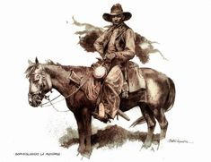 Art by Paolo Eleuteri Serpieri Westerns, Serpieri, Morris, West Art, Bd Comics, Arte Horror, Illustrations, Old West, Horse Art
