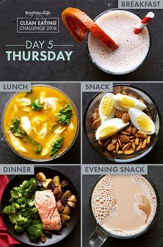 Day 5 Of BuzzFeed's 7-Day Clean Eating Challenge