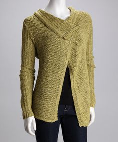 Take a look at this Apropos Verte Caprice Cardigan by Apropos & Pure Sage on #zulily today! @Kathie Dixon...this too!!
