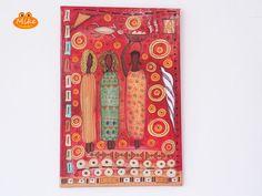 Liebe Shopbesucher,  wir freuen uns, dass Sie unseren Shop besuchen.  Ein schönes Bild, gestaltet im  ♥♥♥ afrikanischen Design ♥♥♥. Dieser Art...