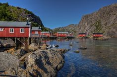 Lofoten, Nusfjord von Mario Voigt