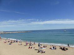 The Mediterranean! Barcelona, Spain