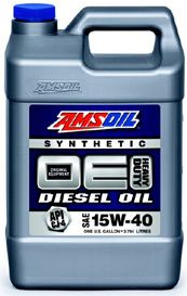 AMSOIL 15W40 Synthetic Diesel Oil  - Come check out the AMSOIL diesel products at http://shop.syntheticoilandfilter.com/motor-oil/diesel/