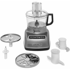 Prepare holiday meals in advance with a KitchenAid food processor.
