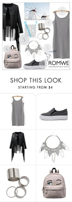 """""""Romwe 9"""" by fashion-addict35 ❤ liked on Polyvore featuring Victoria Beckham"""